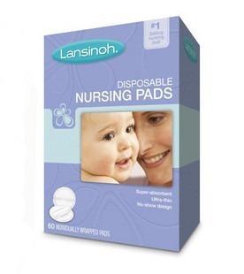 Lansinoh 20265 Disposable Nursing Pads 一次性防溢乳垫 60片*4盒