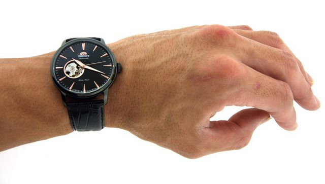 ORIENT 东方双狮 FDB08002B Esteem 男款机械腕表(透芯设计)