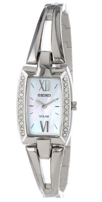 SEIKO 精工 SUP083 珍珠贝母表盘 女士时尚腕表
