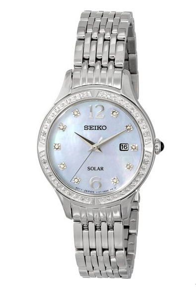 SEIKO 精工 Core SUT091 女士光动能时尚腕表