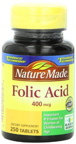 凑单品:Nature Made  Folic Acid 叶酸 400mcg*250粒*3瓶