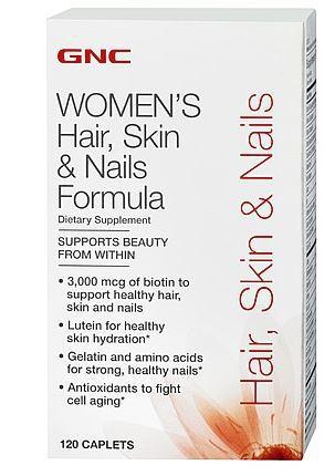 GNC 健安喜 Hair, Skin & Nails Formula 水解胶原蛋白120粒