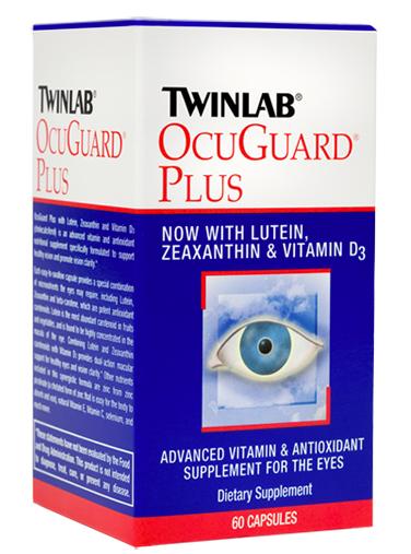 凑单品:TWINLAB 天来 Ocuguard Plus Capsules 加强型叶黄素 护眼胶囊 144粒装(FloraGlo专利原料,超高吸收率)